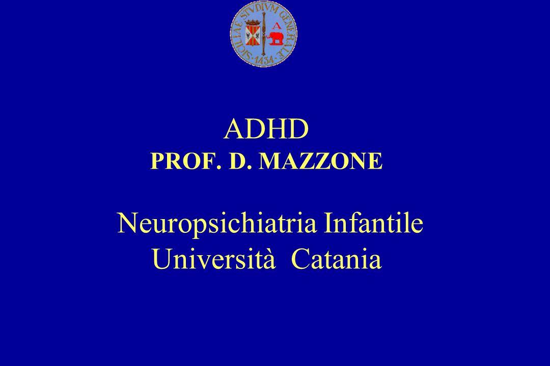 IL BAMBINO IRREQUIETO: ASPETTI EDUCAZIONALI E TERAPEUTICI ADHD PROF.