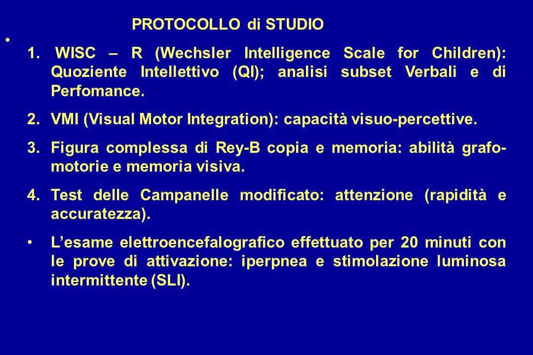 PROTOCOLLO di STUDIO 1.