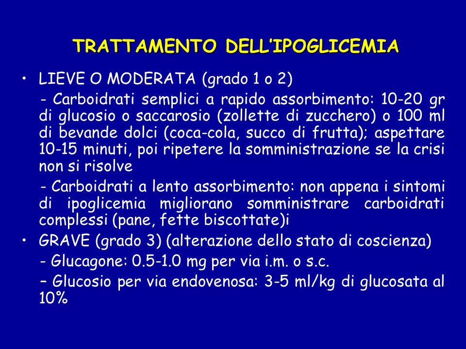 Alimentazione Attività fisica Terapia insulinica