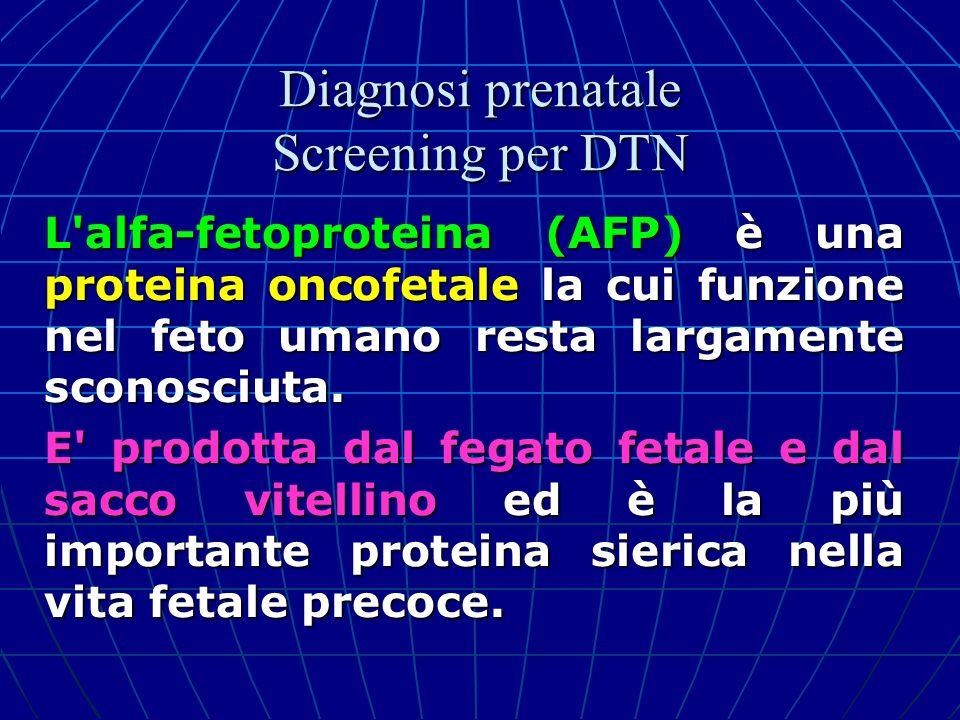 L'alfa-fetoproteina (AFP) è una proteina oncofetale la cui funzione nel feto umano resta largamente sconosciuta. E' prodotta dal fegato fetale e dal s