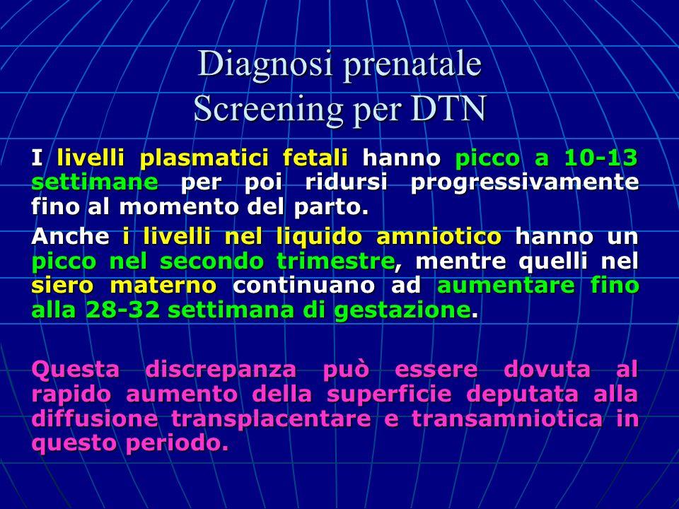 I livelli plasmatici fetali hanno picco a 10-13 settimane per poi ridursi progressivamente fino al momento del parto. Anche i livelli nel liquido amni