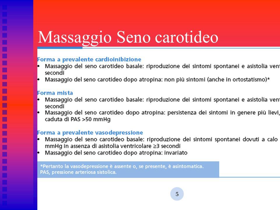Massaggio Seno carotideo