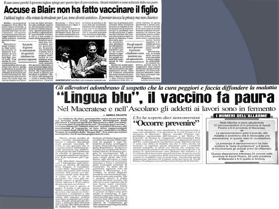 Le vaccinazioni: concetti generali False controindicazioni: febbri lievi; diarrea; vomito; terapia antibiotica o con chemioterapici; nati pretermine,