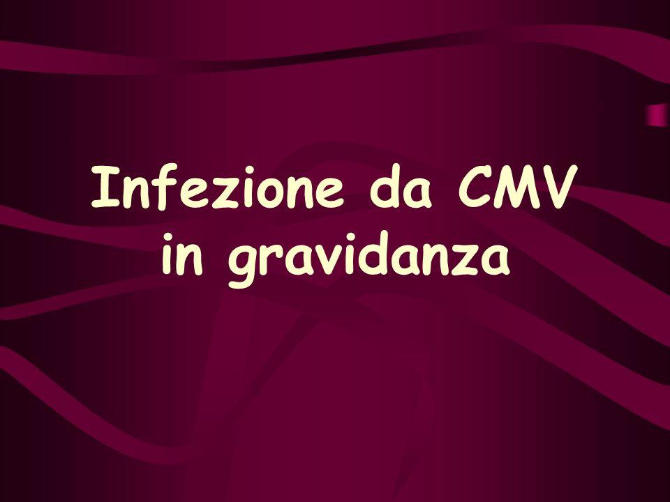 Infezione da CMV in gravidanza