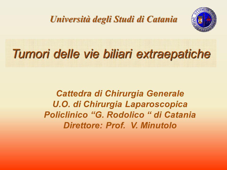 Causa 589 decessi allanno in Italia con una prevalenza nel sesso femminile (2,2/1) Carcinoma della colecisti