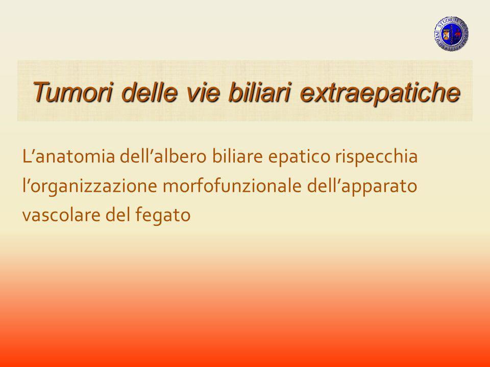 CARCINOMI La classificazione di Gazzaniga tiene conto dellinvasione vascolare Tumori della VBP
