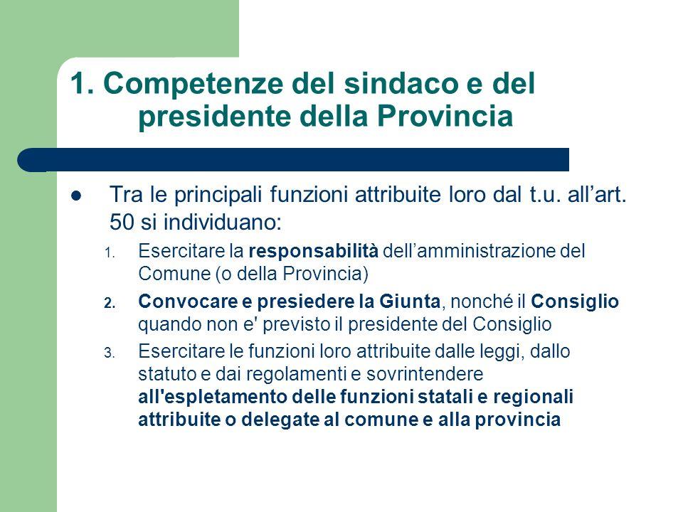 3.Competenze della Giunta: esempio dallo statuto del Comune di Roncade 7.