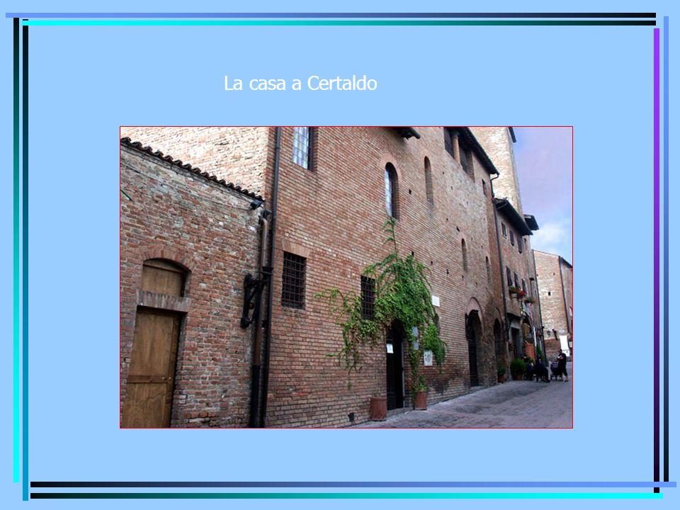 La casa a Certaldo