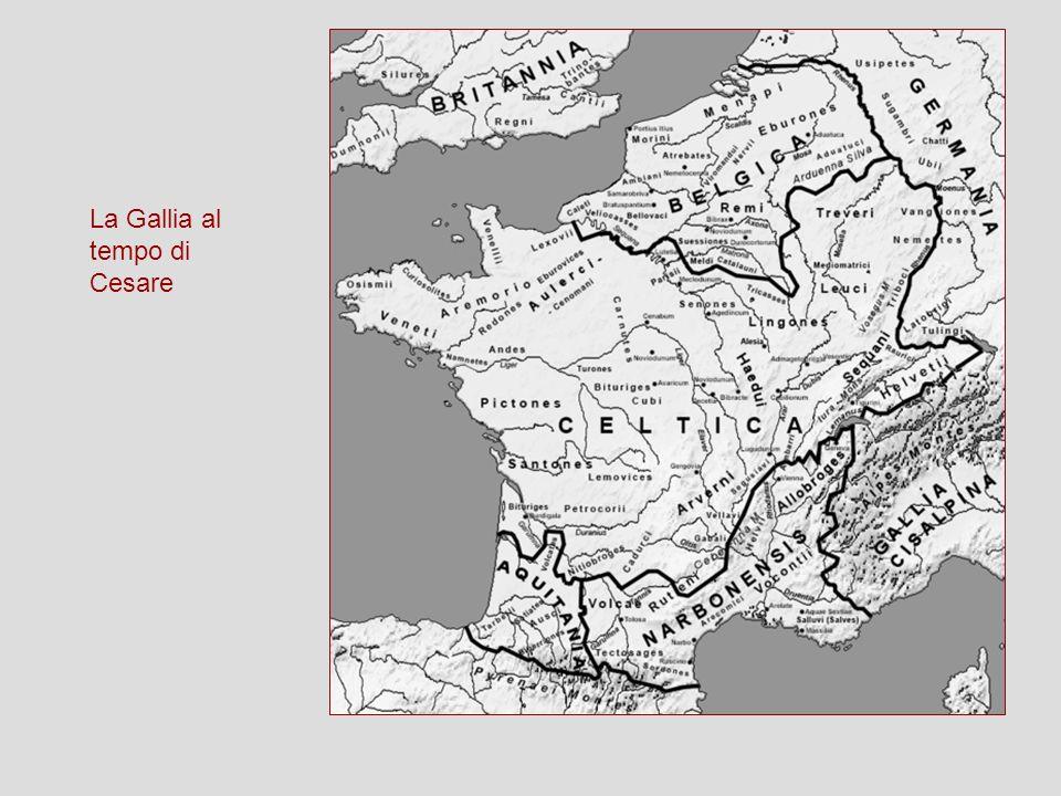 La Gallia al tempo di Cesare