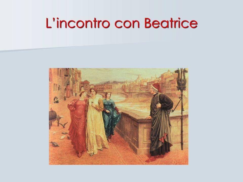 Lincontro con Beatrice