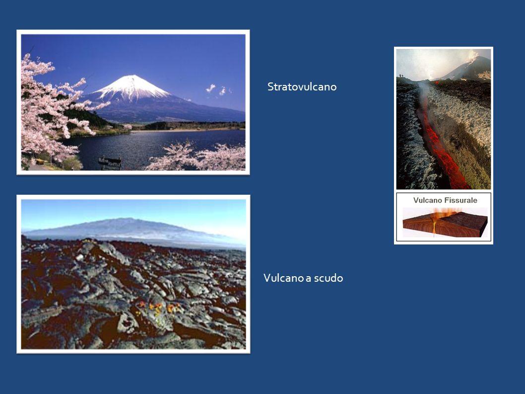 Vulcano a scudo Stratovulcano