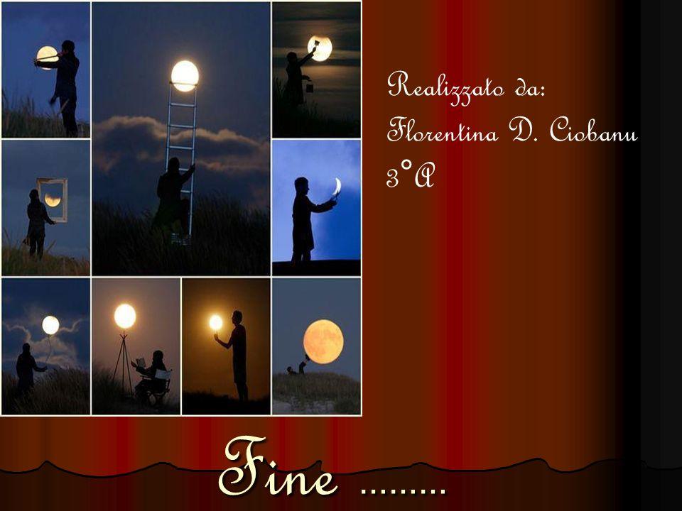 Fine ……… Realizzato da: Florentina D. Ciobanu 3°A