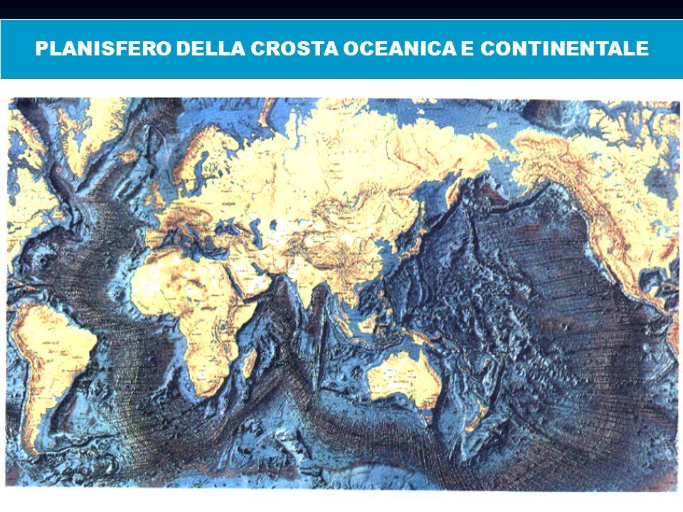 Scarpata continentale CROSTA OCEANICA E CONTINENTALE