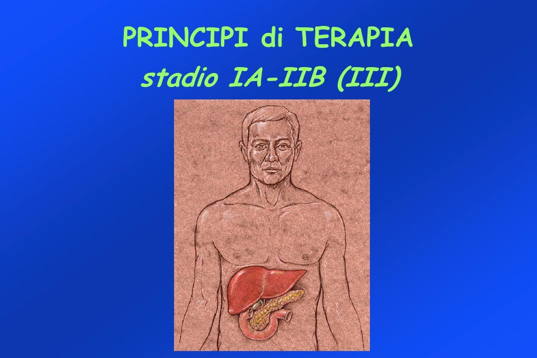 PRINCIPI di TERAPIA stadio IA-IIB (III)