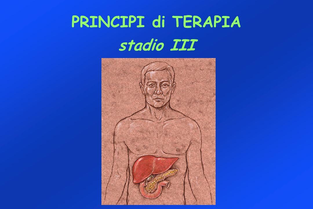 PRINCIPI di TERAPIA stadio III