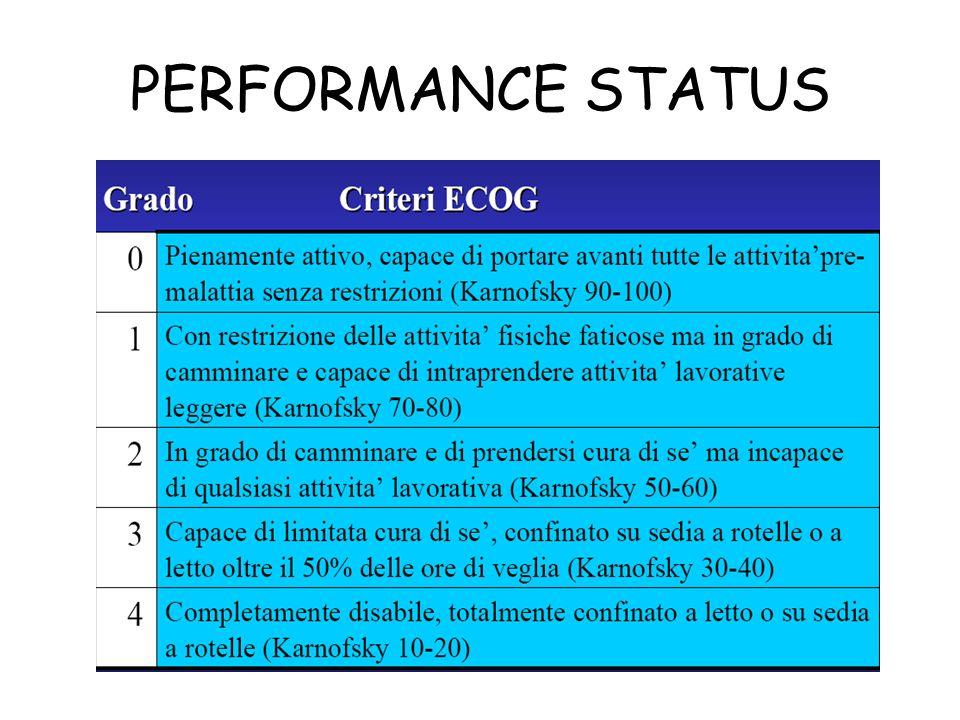 PERFORMANCE STATUS