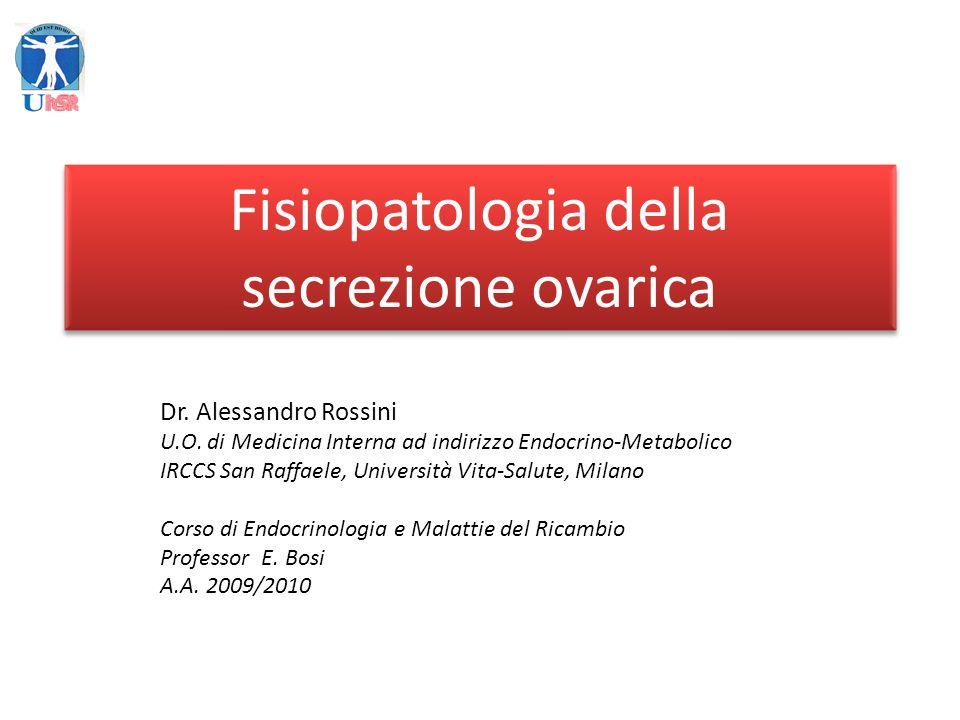 Malattie dellovaio Origine dellamenorrea Ipotalamo-ipofisi Ovaio Utero AMENORREE