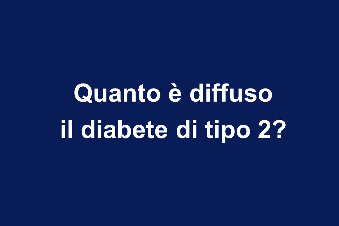 Quanto è diffuso il diabete di tipo 2?