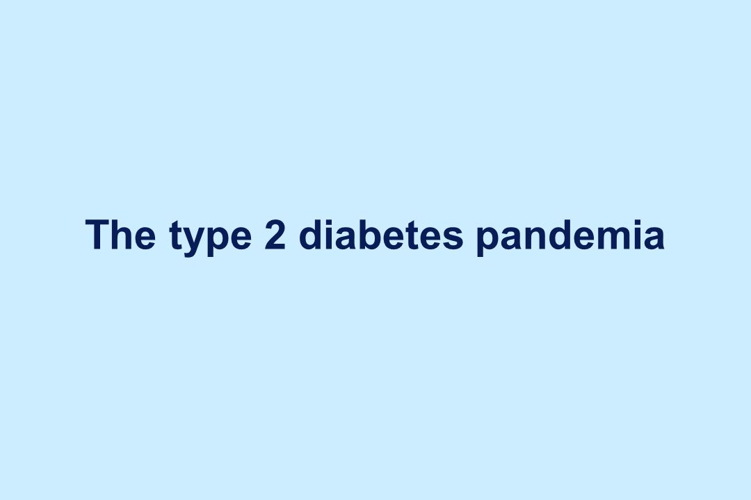 Adapted from WHO Diabetes Programme Facts and Figures: www.who.int/diabetes/facts/world_figures/en.
