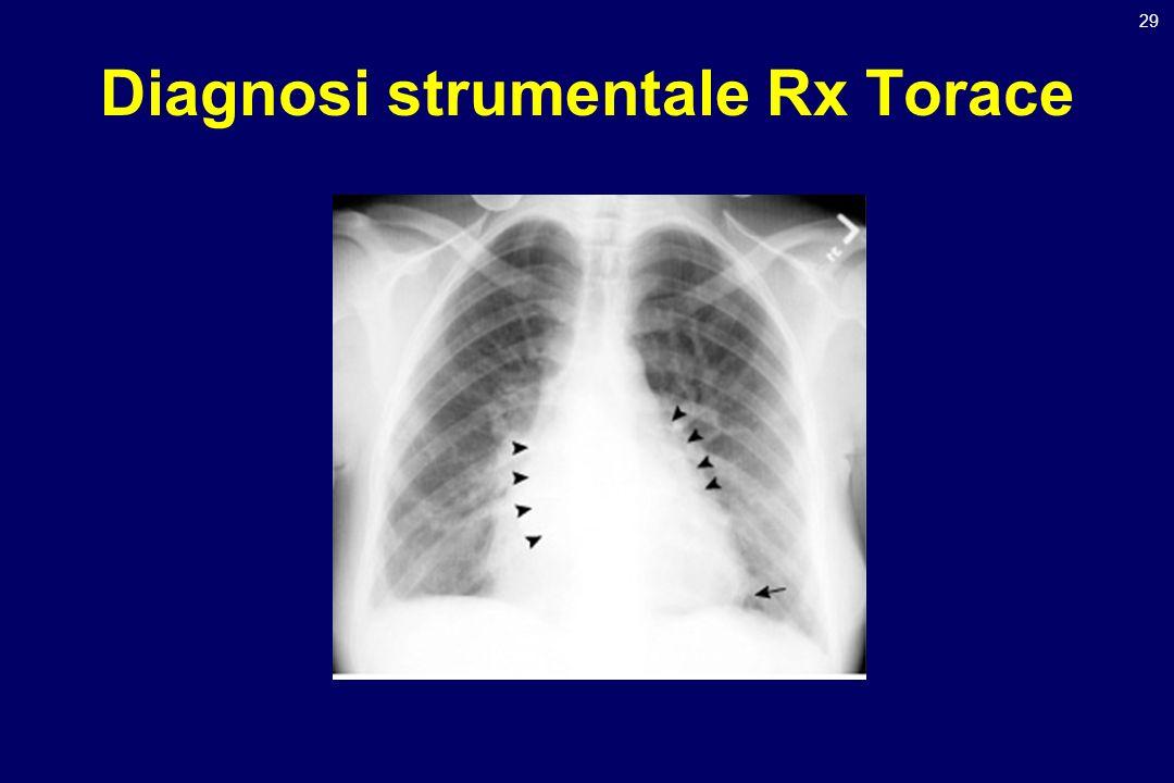 29 Diagnosi strumentale Rx Torace