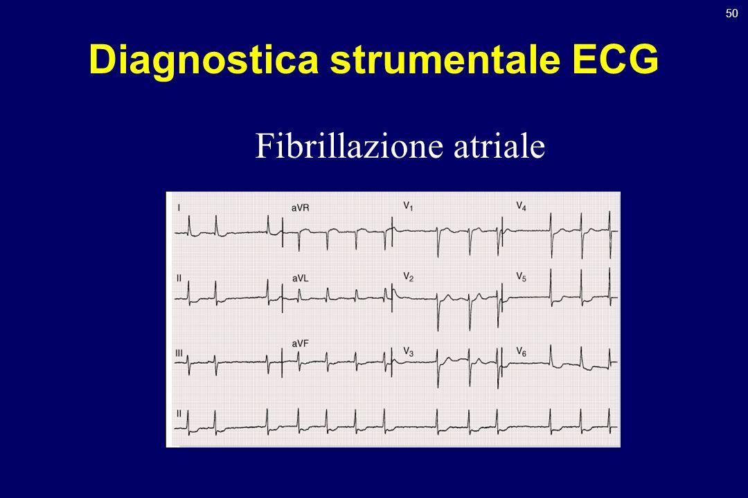 50 Diagnostica strumentale ECG Fibrillazione atriale