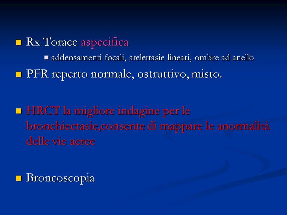Rx Torace aspecifica Rx Torace aspecifica addensamenti focali, atelettasie lineari, ombre ad anello addensamenti focali, atelettasie lineari, ombre ad