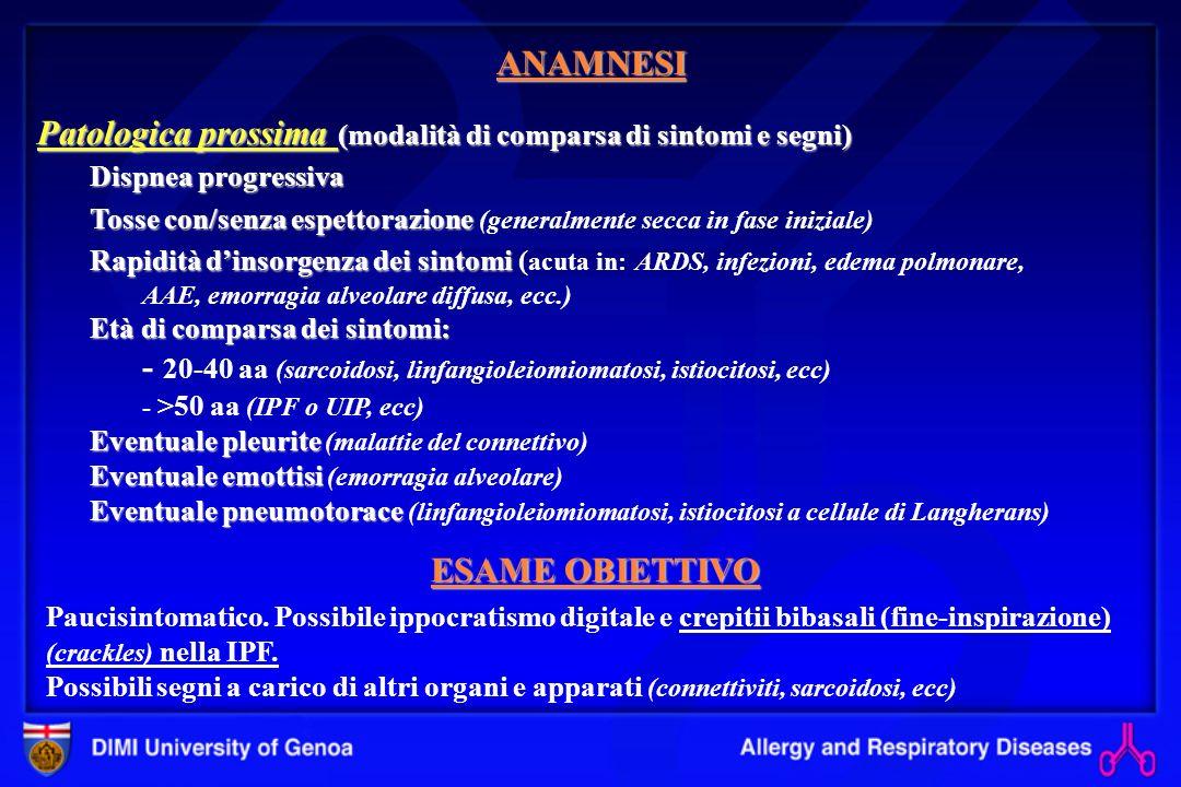 Tomografia compiuterizzata ad alta risoluzione (HRTC).