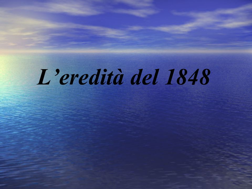 Leredità del 1848