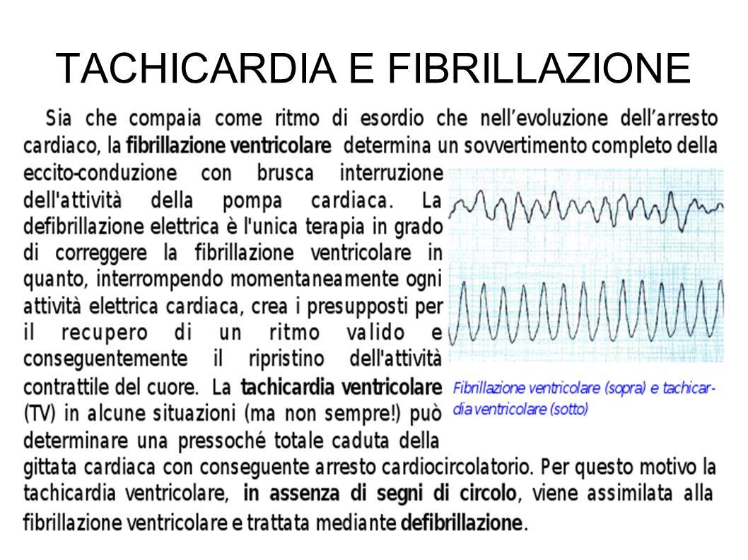 TACHICARDIA E FIBRILLAZIONE