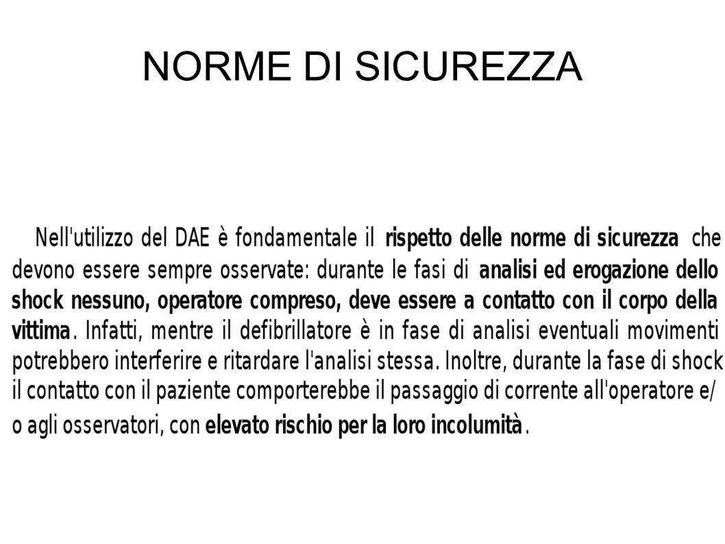 NORME DI SICUREZZA