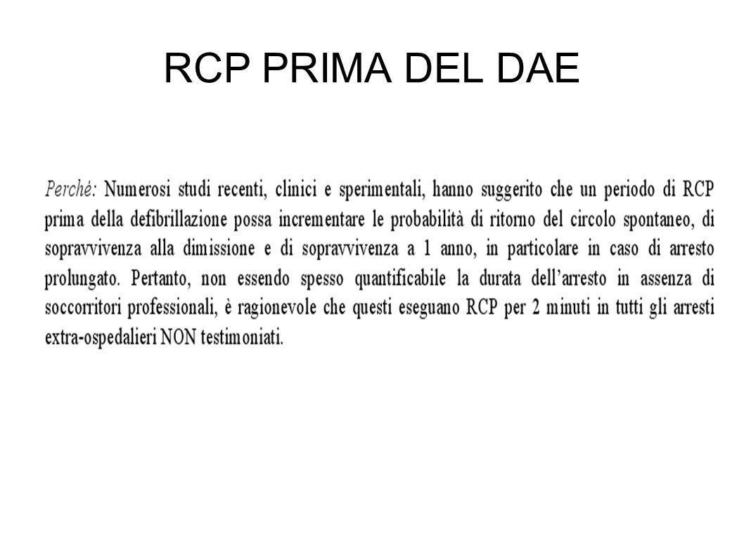 RCP PRIMA DEL DAE