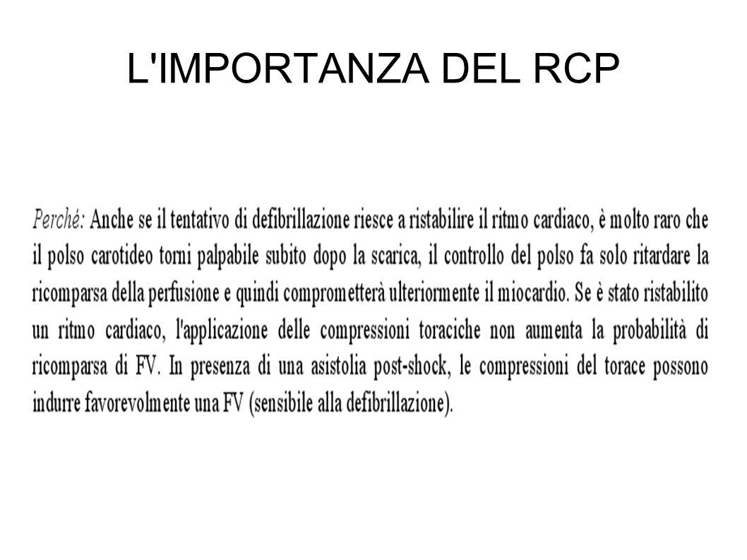 L IMPORTANZA DEL RCP