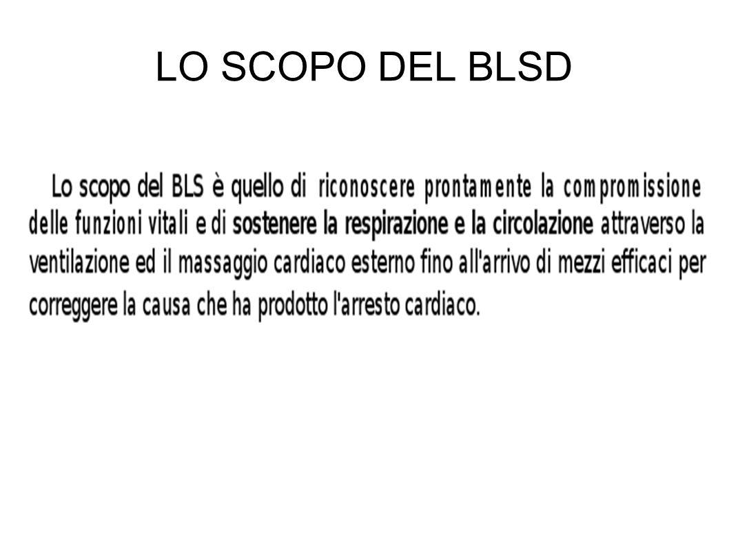 LO SCOPO DEL BLSD