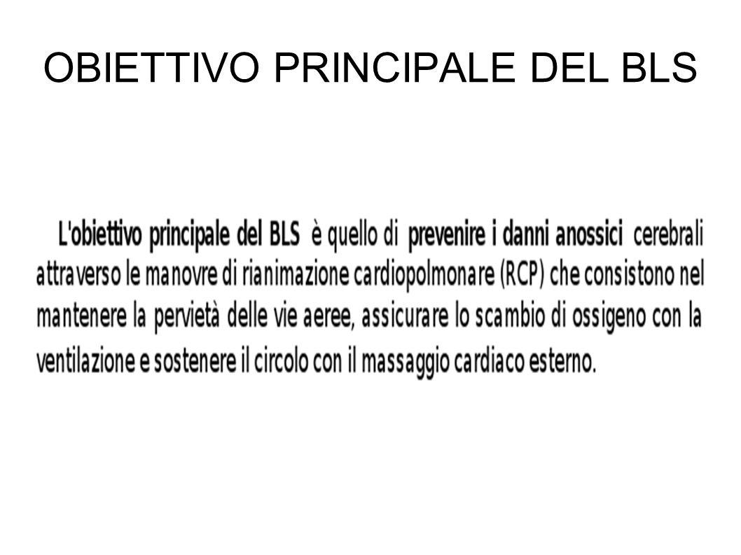 OBIETTIVO PRINCIPALE DEL BLS