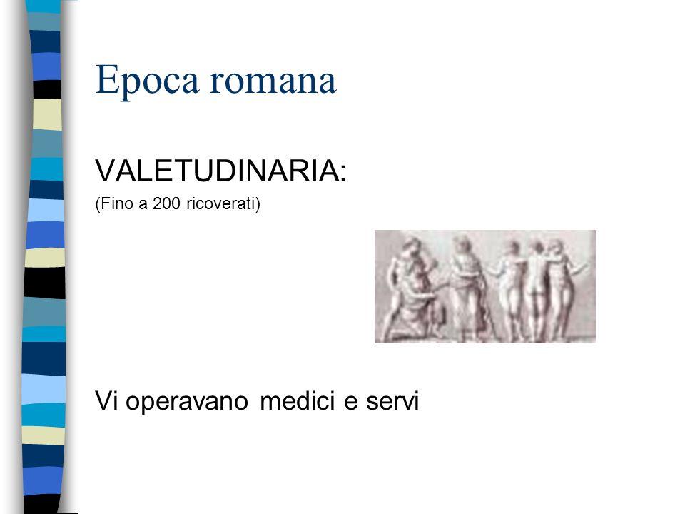 Antichità/Epoca pre-cristiana Medicina