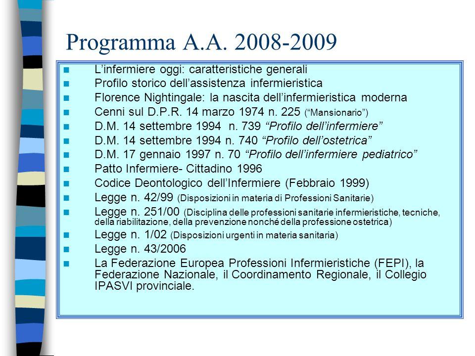 Università di Pisa Corso di Laurea in Infermieristica Modulo di Infermieristica Generale ASPETTI GIURIDICI DELLA PROFESSIONE 1° semestre Docente: Luci
