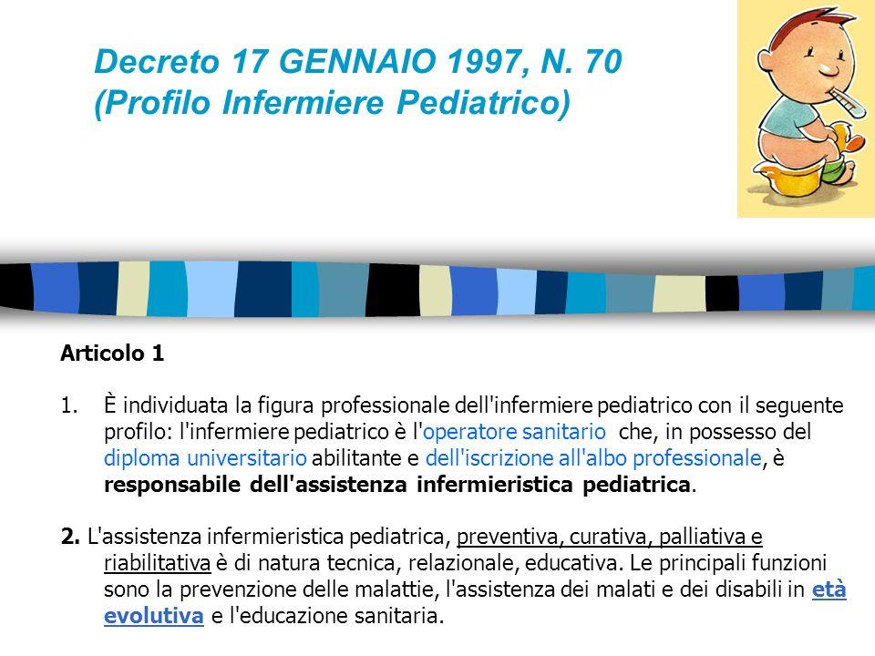 MINISTERO DELLA SANITA Decreto 17 GENNAIO 1997, N.