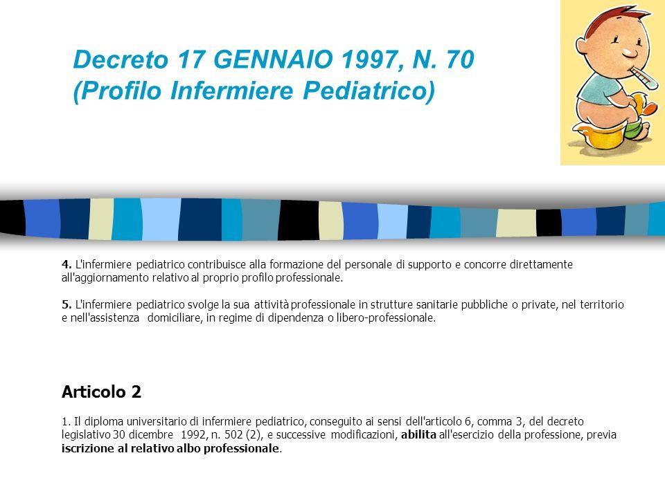 3. L'infermiere pediatrico: a) partecipa all'identificazione dei bisogni di salute fisica e psichica del neonato, del bambino, dell'adolescente, della