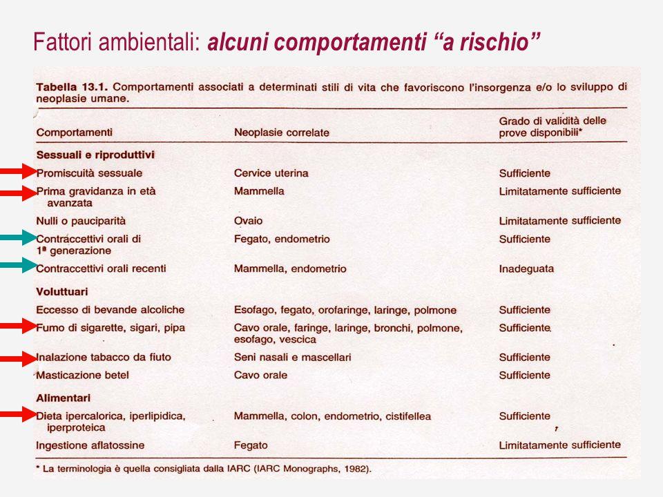 Fattori ambientali: linquinamento chimico ed industriale