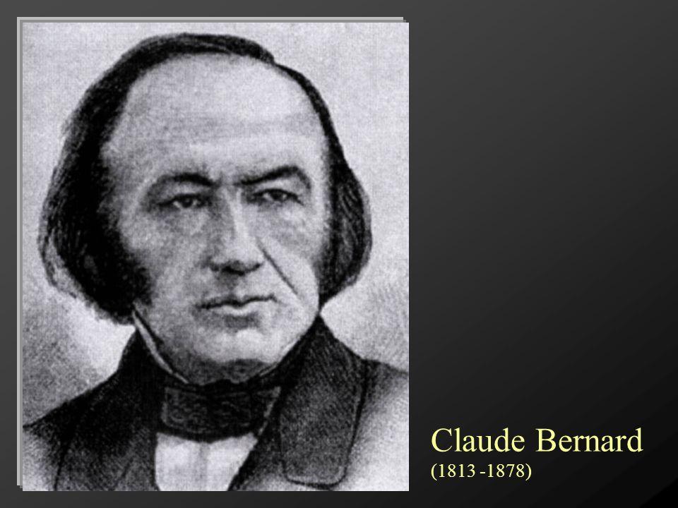 Claude Bernard (1813 -1878)