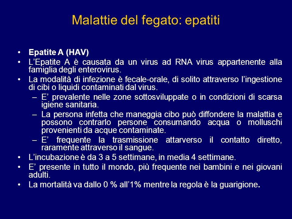 Malattie del fegato: epatiti Lepatite è una malattia infiammatoria del fegato che può avere cause diverse: virali o tossiche.