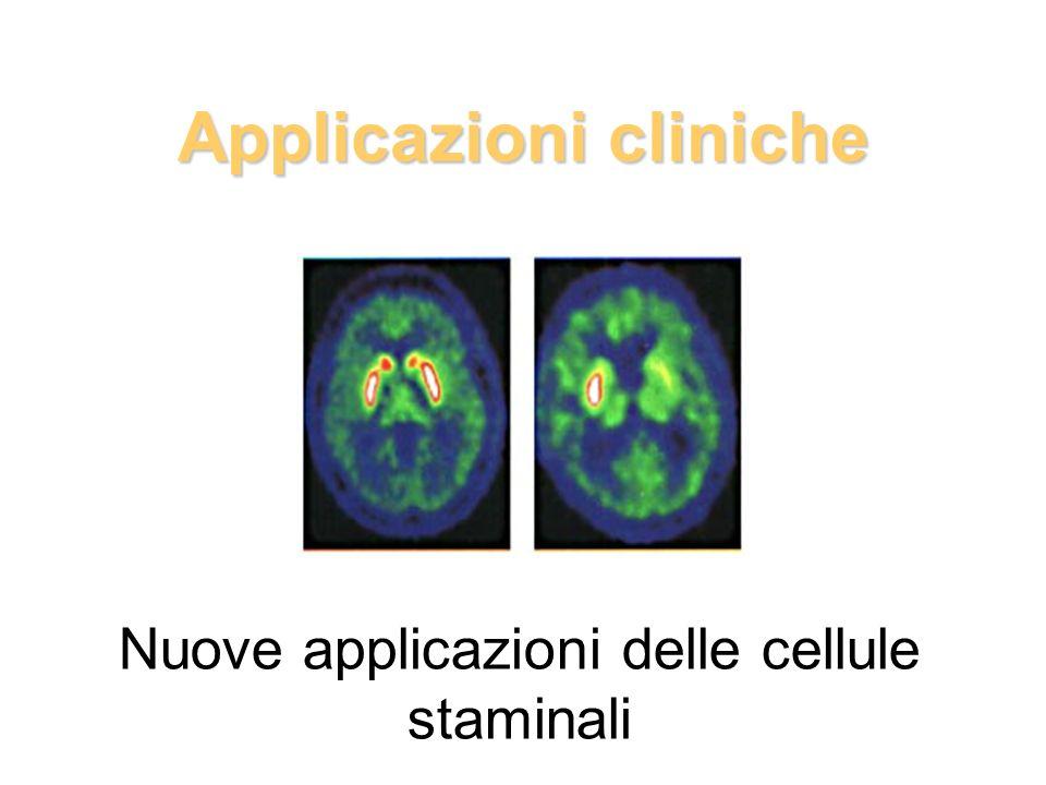 Applicazioni cliniche Nuove applicazioni delle cellule staminali