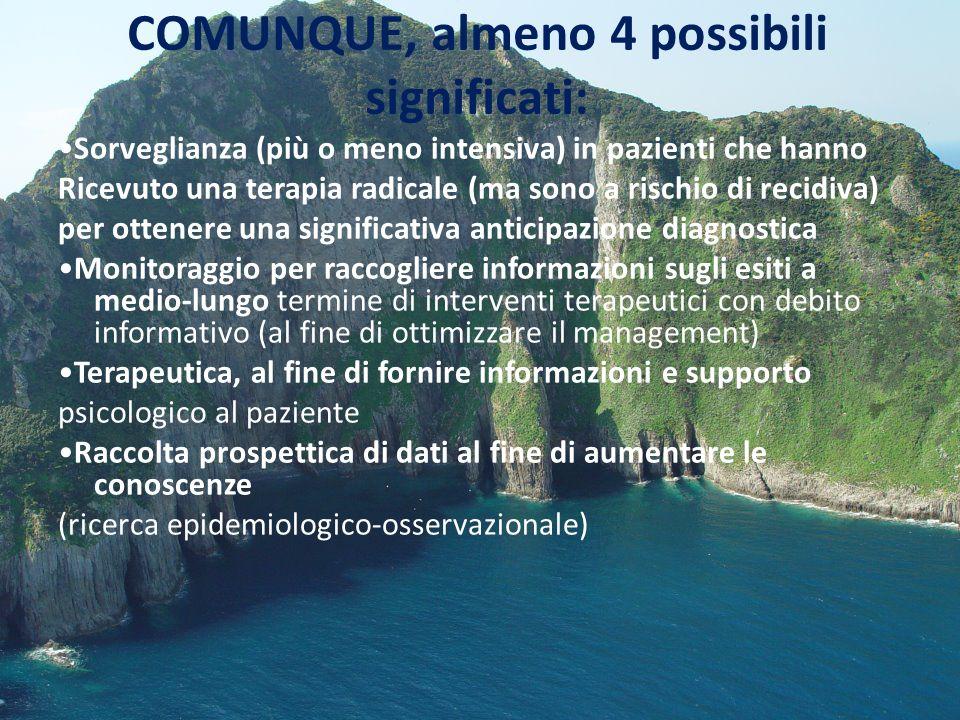 FOLLOW UP MOLTO RAVVICINATO PROGRESSIVO INCREMENTO DEL Ca 125 (0-35) I CUI VALORI PASSAVANO DA 6,1 (12\09\12) a 93,5(30\01\13) FINO A 198 (20\02\13).