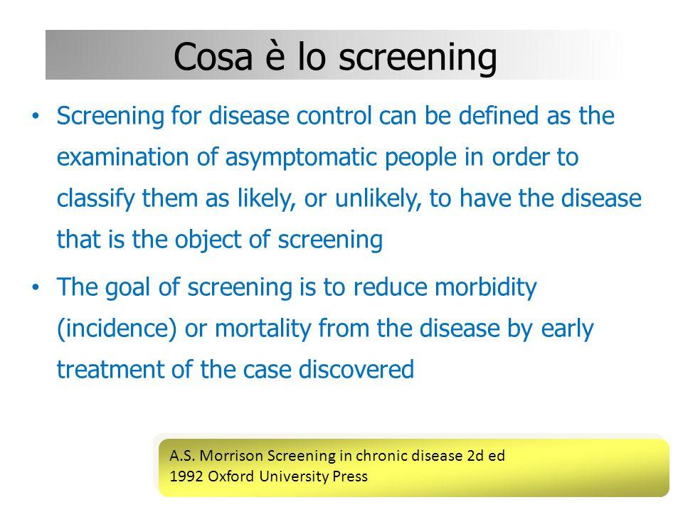 Garantire la partecipazione Punti chiave la partecipazione oggettiva dei soggetti destinatari è condizione per leffectiveness dei programmi di screening.