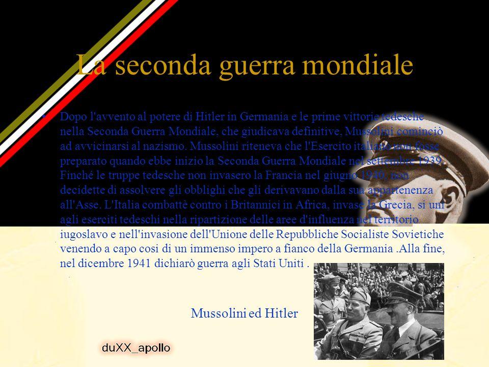 Il fascismo: La grande Italia Dopo l'omicidio del deputato socialista Giacomo Matteotti nel 1924, Benito Mussolini si eresse a unico potere e divenne