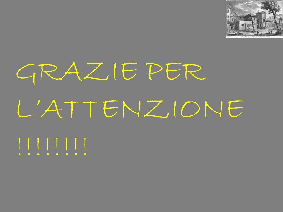 GRAZIE PER LATTENZIONE !!!!!!!!