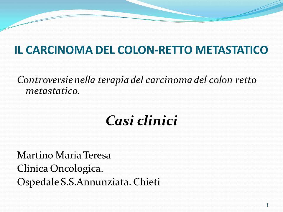 Caso clinico 3 1. INTERVENTO CHIRURGICO (annessectomia)? 2. CHEMIOTERAPIA? 12