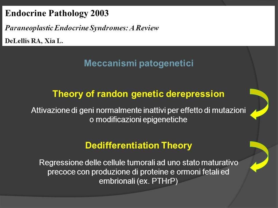Endocrine Pathology 2003 Paraneoplastic Endocrine Syndromes: A Review DeLellis RA, Xia L.