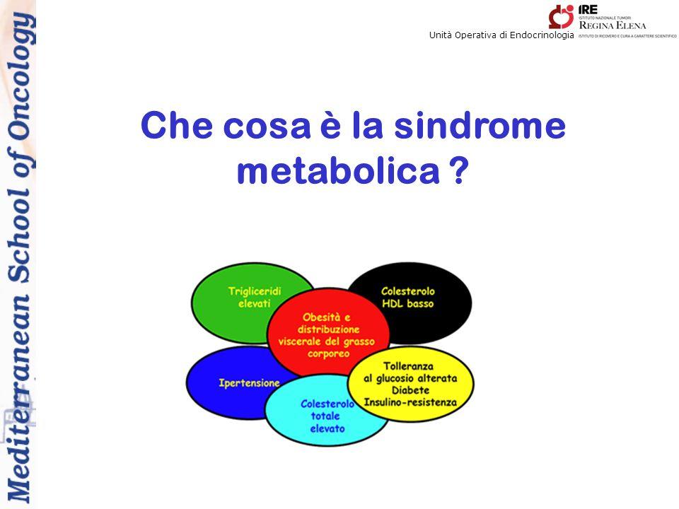 Unità Operativa di Endocrinologia Che cosa è la sindrome metabolica ?