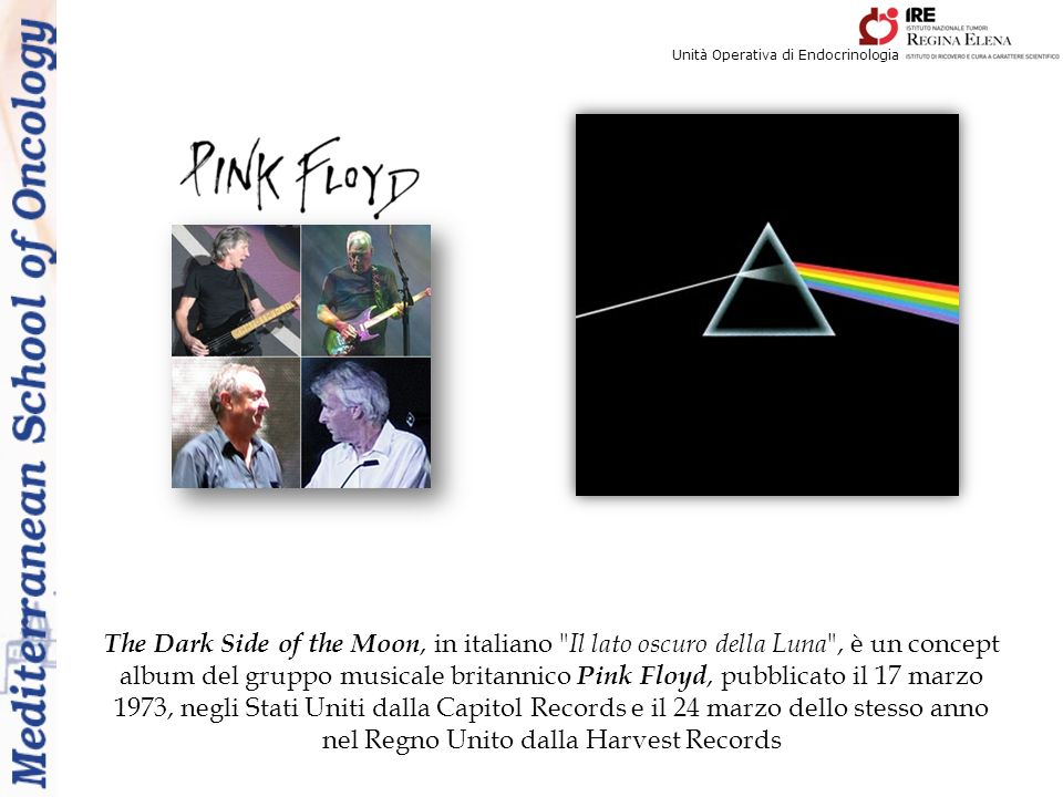 The Dark Side of the Moon, in italiano